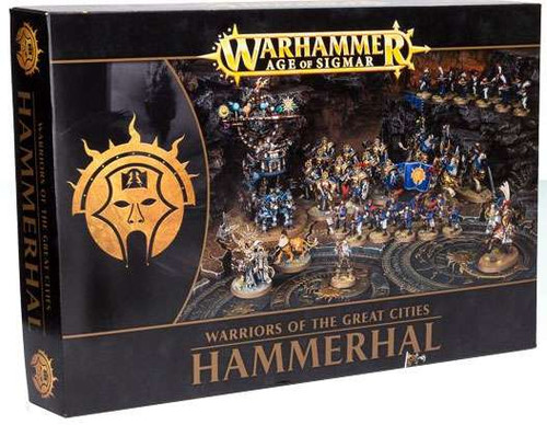 Warhammer Age of Sigmar Warriors of the Great Cities Hammerhal