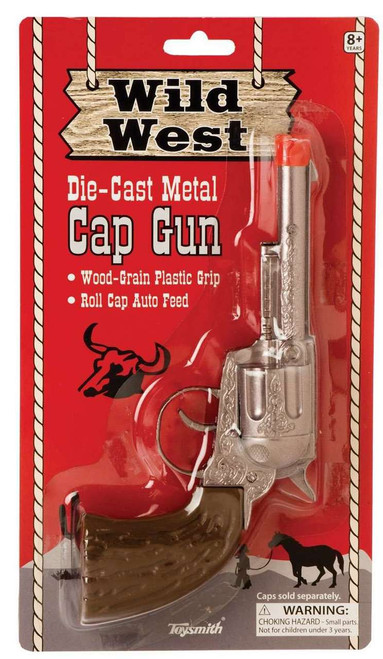 Wild West Cap Gun Diecast Toy