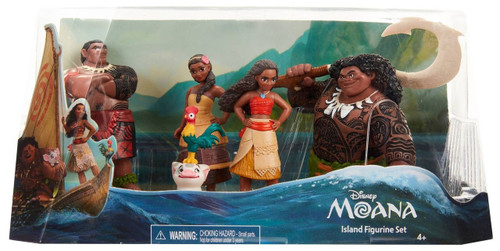 Disney Moana Moana Island 5-Piece Figurine Set