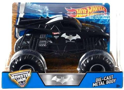 Hot Wheels Monster Jam 25 DC Comics Batman Diecast Car