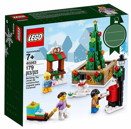 LEGO Christmas Town Square Set #40263