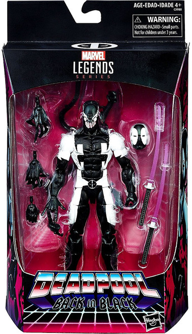 Marvel Legends Deadpool Exclusive Action Figure [Back in Black]