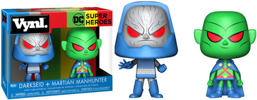 Funko DC Super Heroes Vynl. Martian Manhunter & Darkseid Vinyl Figure 2-Pack
