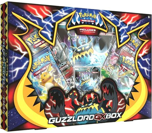 Pokemon Trading Card Game XY Guzzlord-GX Box [4 Booster Packs, Promo Card & Oversize Card]