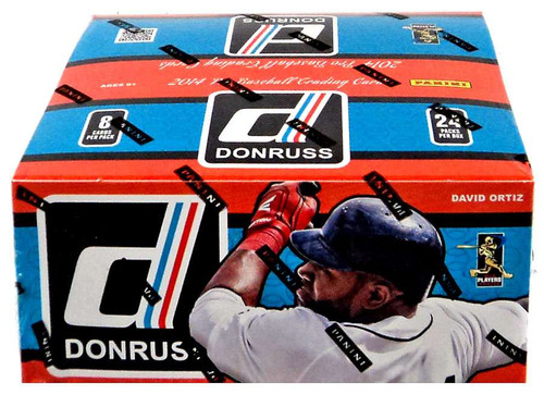 MLB Panini 2014 Donruss Baseball Trading Card Box [24 Packs]