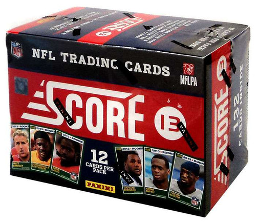 NFL Panini Score 2013 Trading Card BLASTER Box