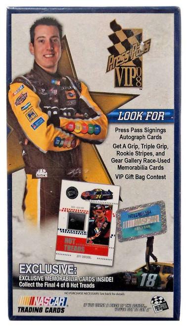 NASCAR Panini 2008 Press Pass VIP Racing Trading Card BLASTER Box