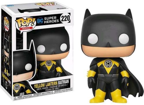 Funko POP! Heroes Yellow Lantern Batman Exclusive Vinyl Figure #220
