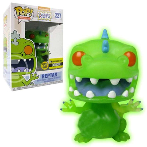 Funko Nickelodeon Rugrats POP! TV Reptar Exclusive Vinyl Figure #227 [Glow in the Dark]