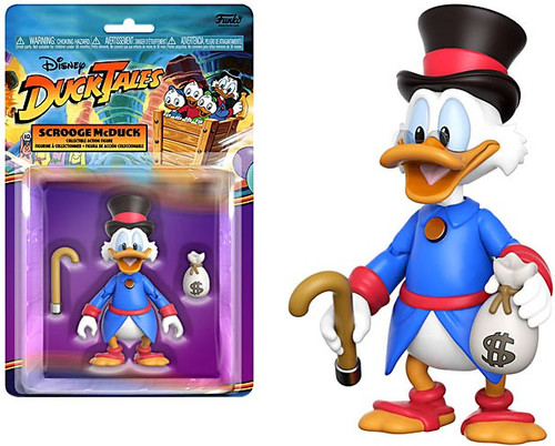Funko Disney Afternoon DuckTales Scrooge McDuck Action Figure