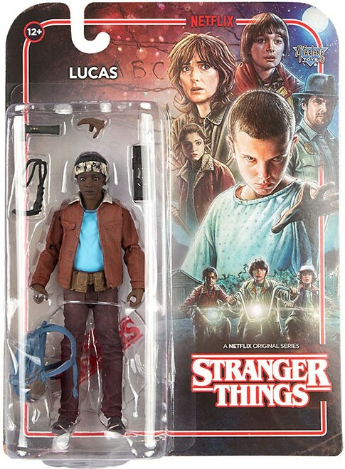 McFarlane Toys Stranger Things Series 2 Lucas Sinclair Action Figure