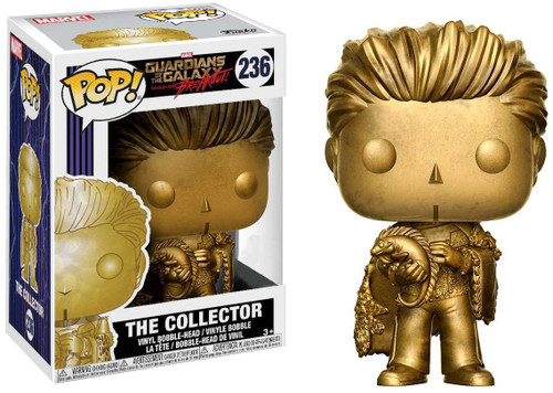 Funko Guardians of the Galaxy Mission Breakout! POP! Marvel The Collector Exclusive Vinyl Bobble Head #236 [Gold]