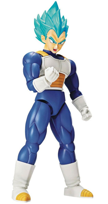 Dragon Ball Super Figure-Rise Standard Super Saiyan Blue Vegeta 6-Inch Model Kit Figure