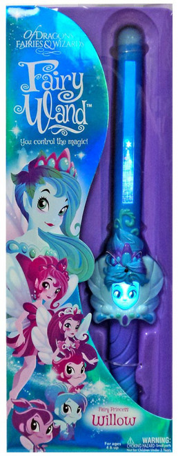 Of Dragons, Fairies & Wizards Willow Magic Fairy Wand [Blue]