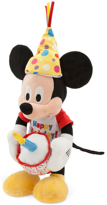 Disney Mickey Mouse Happy Birthday Musical Exclusive 13-Inch Plush