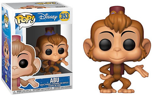 Funko Aladdin POP! Disney Abu Vinyl Figure [Animated]