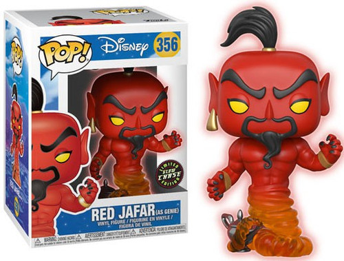 Funko Aladdin POP! Disney Jafar Vinyl Figure [Glow, Chase Animated Version]