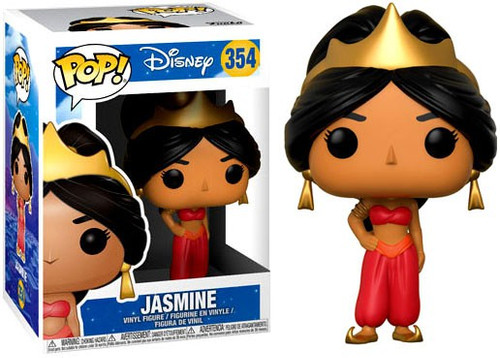 Funko Aladdin POP! Disney Jasmine Vinyl Figure #354 [Red Animated]