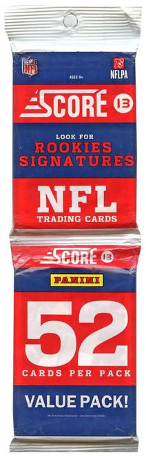 NFL Panini 2013 Score Football Trading Card VALUE Pack