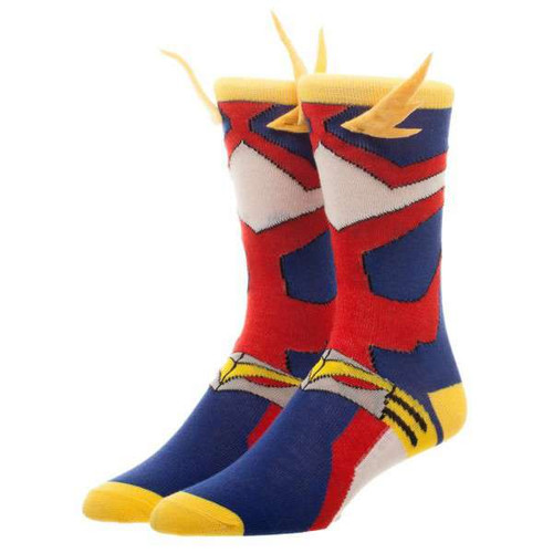 My Hero Academia All Might Cosplay Crew Socks