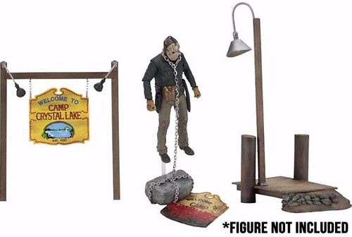 NECA Friday the 13th Camp Crystal Lake Accessory Set [Action Figure Not Included!]