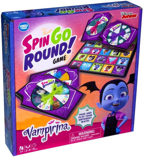 Disney Junior Vampirina Spin Go Round! Game