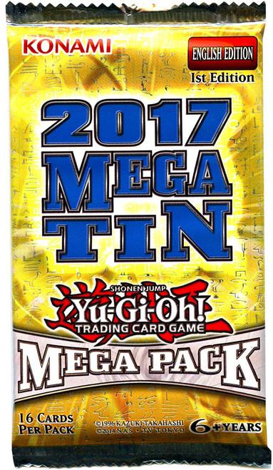YuGiOh Trading Card Game 2017 Mega Tin Mega Booster Pack [16 Cards!]