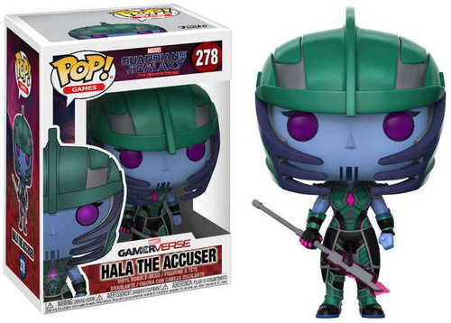 Funko Marvel Gamerverse Guardians of the Galaxy: The Telltale Series POP! Games Hala The Accuser Vinyl Figure