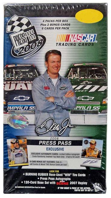 NASCAR Panini Press Pass '08 Trading Card BLASTER Box