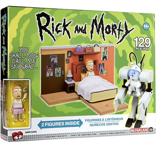 McFarlane Toys Rick & Morty You Shall Now Call Me Snowball Medium Construction Set