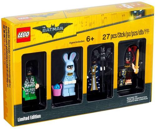 LEGO Bricktober Batman Exclusive Minifigure Collection 4-Pack #5004939