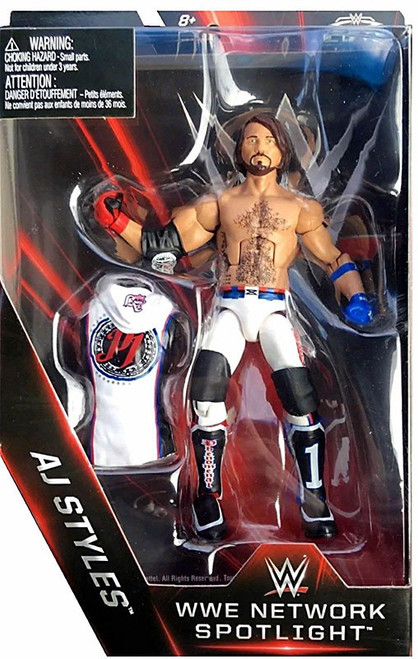 WWE Wrestling Elite Network Spotlight AJ Styles Exclusive Action Figure
