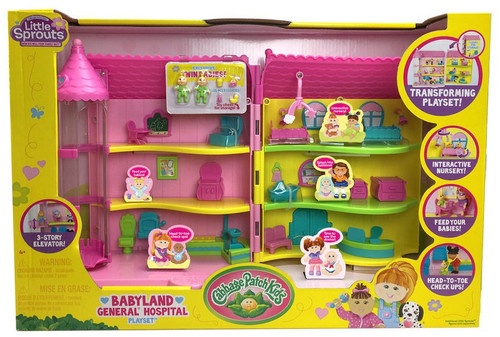 Cabbage Patch Kids Little Sprouts Babyland General Hospital Playset