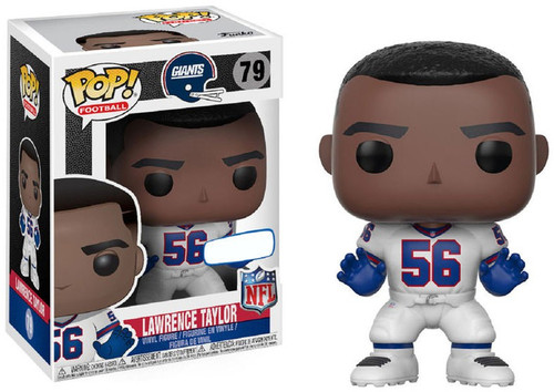 Funko NFL New York Giants POP! Sports Football Lawrence Taylor Exclusive Vinyl Figure #79 [White Jersey Jersey]