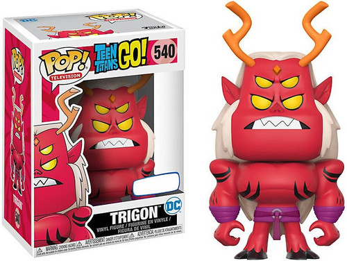 Funko Teen Titans Go! POP! TV Trigon Exclusive Vinyl Figure #540
