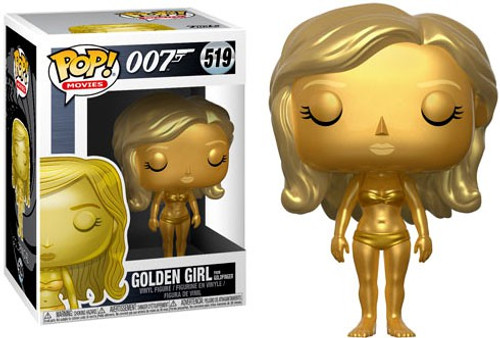 Funko James Bond 007 POP! Movies Golden Girl Vinyl Figure #519 [Goldfinger]