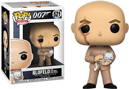 Funko James Bond 007 POP! Movies Blofeld Vinyl Figure #521 [You Only Live Once]