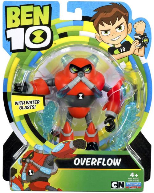 Ben 10 Basic Overflow Action Figure [Water Blasts!]