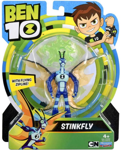 Ben 10 Basic Stinkfly Action Figure [Flying Zipline]