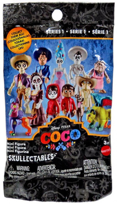 Disney / Pixar Coco Skullectables Series 1 Mystery Pack