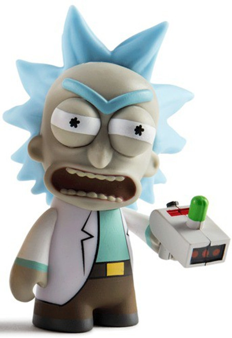 Adult Swim Rick and Morty Angry Rick 3-Inch 1/24 Mystery Minifigure [Loose]