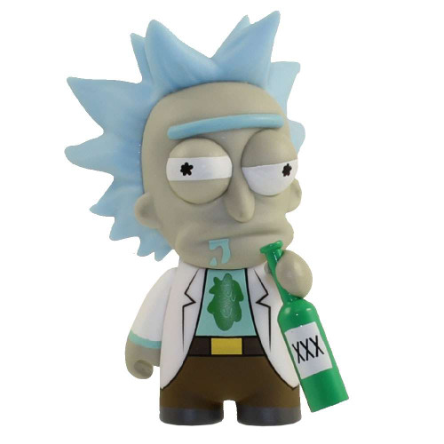 Adult Swim Rick and Morty Inebriated Rick 3-Inch 2/24 Mystery Minifigure [Loose]