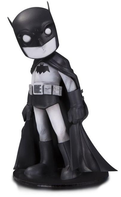 DC Artist Alley Batman 6.6-Inch PVC Collector Statue [Chris Uminga, Black & White Variant]