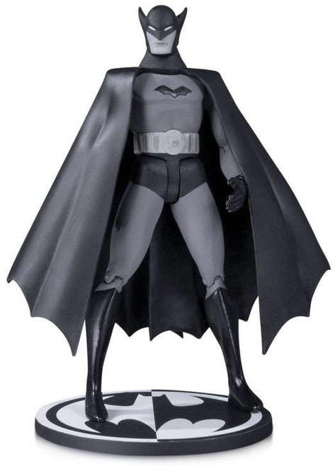 DC Designer Series Batman Action Figure [Bob Kane, Black & White Version]