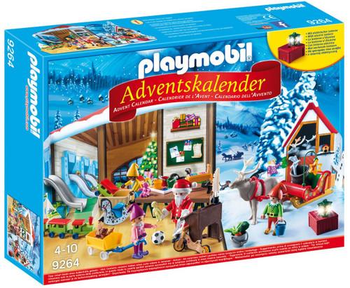Playmobil Advent Calendar Santa's Workshop Set #9264