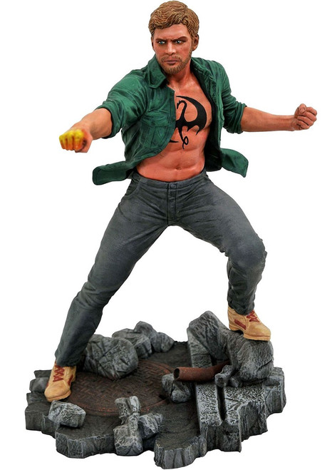 Marvel Gallery Iron Fist 9-Inch PVC Figure Statue [Netflix]