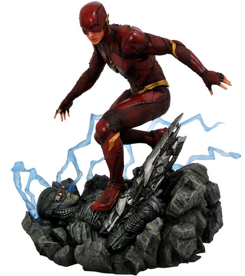 Justice League DC Gallery The Flash 9-Inch PVC Figure Statue [Movie Version]
