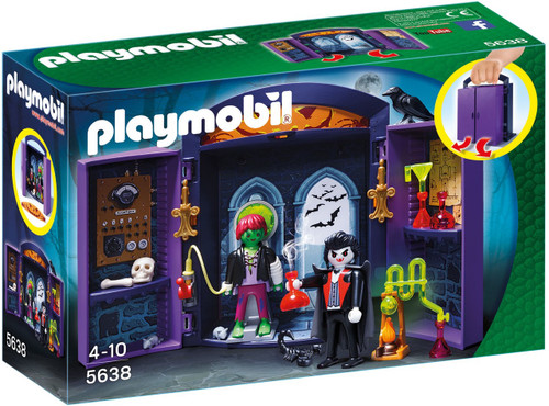 Playmobil City Action Haunted House Play Box Set #5638