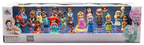 Disney 2017 Animators Collection Exclusive 20-Piece Mega PVC Figurine Playset