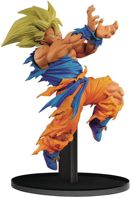 Dragon Ball Z World Figure Colosseum Super Saiyan Son Goku 4.1-Inch Collectible PVC Figure